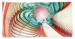 Beach Towel featuring the digital art Roar Of A Dragon by Anastasiya Malakhova