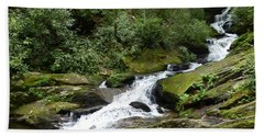 Roaring Fork Falls June 2017 Beach Towel