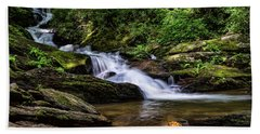 Roaring Fork Waterfall Beach Sheet