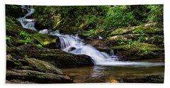 Roaring Fork Waterfall Beach Towel