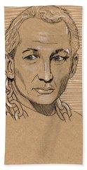 Robert Englund Beach Towel
