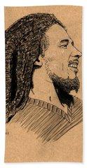 Robert Nesta Marley Beach Towel