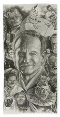 Robin Williams Beach Towel