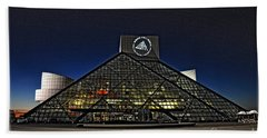 Rock And Roll Hall Of Fame - Cleveland Ohio - 5 Beach Towel