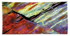 Rock Art 16 Beach Towel