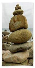 Rock Art Beach Towel by Joe  Palermo