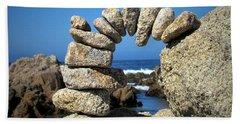 Rock Art One Beach Sheet