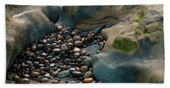 Beach Towel featuring the photograph Rock Cradle by Randy Bayne