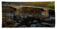 Rock Creek Park Bridge Beach Towel