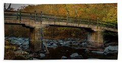 Rock Creek Park Bridge Beach Towel