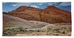 Rock Formations - Valley Of Fire - Nevada Beach Towel