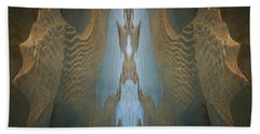Beach Towel featuring the photograph Rock Gods Seabird Of Old Orchard by Nancy Griswold