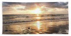 Rock 'n Sunset Beach Towel