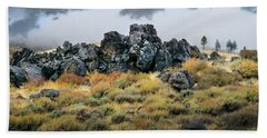 Rock Outcrop Beach Towel