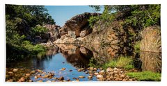 Beach Towel featuring the photograph Rock Pool by Lana Enderle
