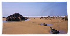 Rock Pools Beach Towel