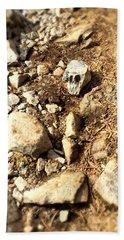 Rock Skull Beach Towel