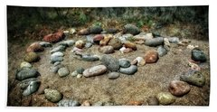 Rock Spiral At Buddha Beach - Sedona Beach Towel
