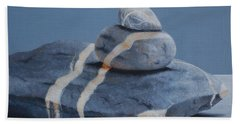 Rock Stack Beach Towel