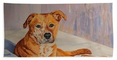 Rockaroni Beach Towel by Lisa Rose Musselwhite