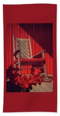 Beach Sheet featuring the photograph Rockin' Red by Jessica Brawley