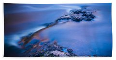 Rocks And Water Beach Towel