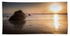 Rocks At Sunset 3 Beach Towel