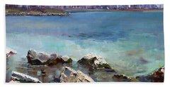 Rocks N' The City Beach Towel