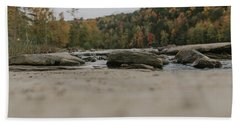 Rocks On Cumberland River Beach Sheet