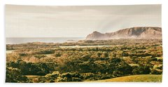 Rocky Capes And Rugged Coasts Beach Towel