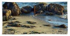 Rocky Formation Beach Towel