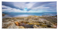 Rocky Landscape Beach Sheet
