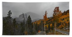 Rocky Mountain Color Beach Towel