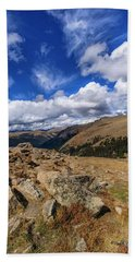 Rocky Mountain National Park Colorado Beach Towel