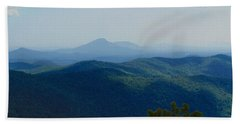 Rocky Mountain Overlook On The At Beach Towel