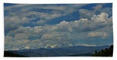 Colorado Rocky Mountain High Beach Towel