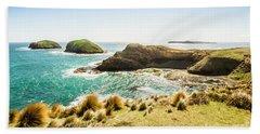 Rocky Ocean Capes Beach Towel