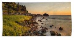 Rocky Point Sunset Beach Towel