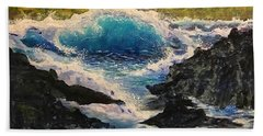 Rocky Sea Beach Towel