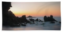 Rocky Sunrise Beach Sheet by Ralph Vazquez