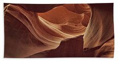 Rocky Swirls Dist Beach Towel