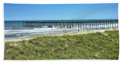 Avon Pier - Outer Banks Of North Carolina Beach Towel