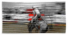 Rodeo Abstract V Beach Towel