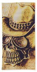 Rodeo Spook Beach Towel