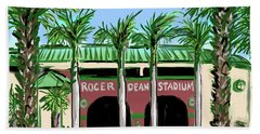 Roger Dean Stadium Beach Towel