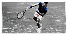 Roger Federer 4v Beach Towel