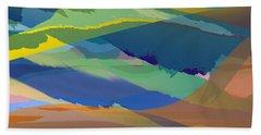 Rolling Hills Landscape Beach Sheet