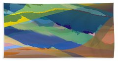 Rolling Hills Landscape Beach Towel