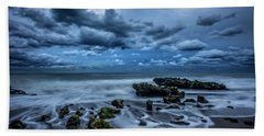 Beach Towel featuring the photograph Rolling Thunder by Debra and Dave Vanderlaan