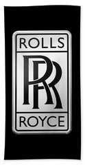 Rolls Royce Beach Towel